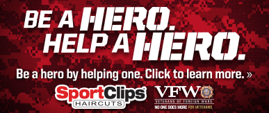 Sport Clips Haircuts of Park Ridge​ Help a Hero Campaign